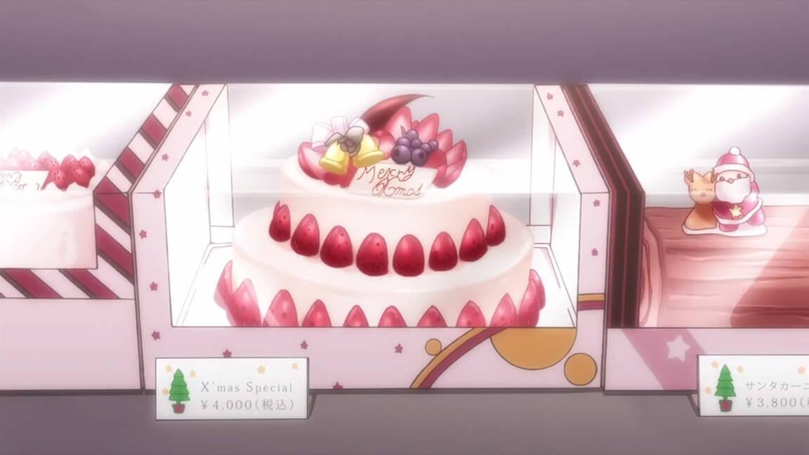 Anime Christmas Cake
