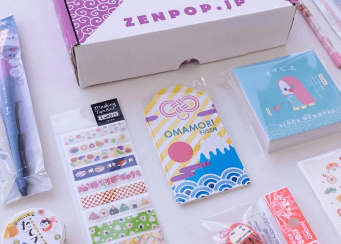 ZenPop's January New Year Celebrations Stationery Subscription Box