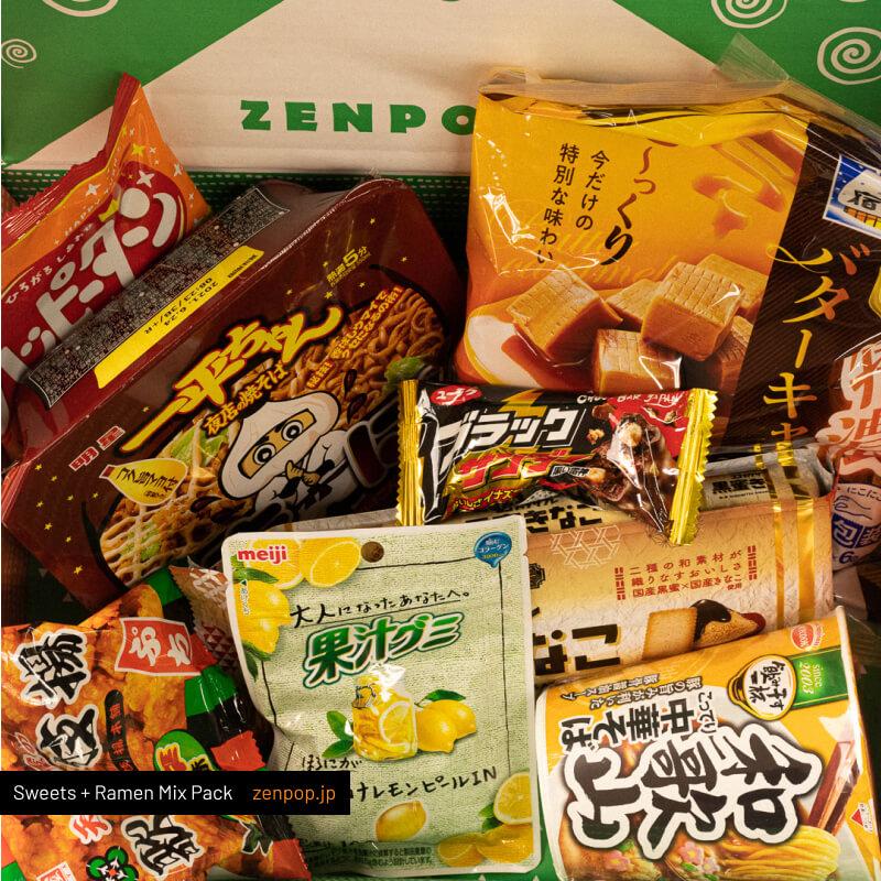 ZenPop's Japanese Ramen + Sweets Mix Pack
