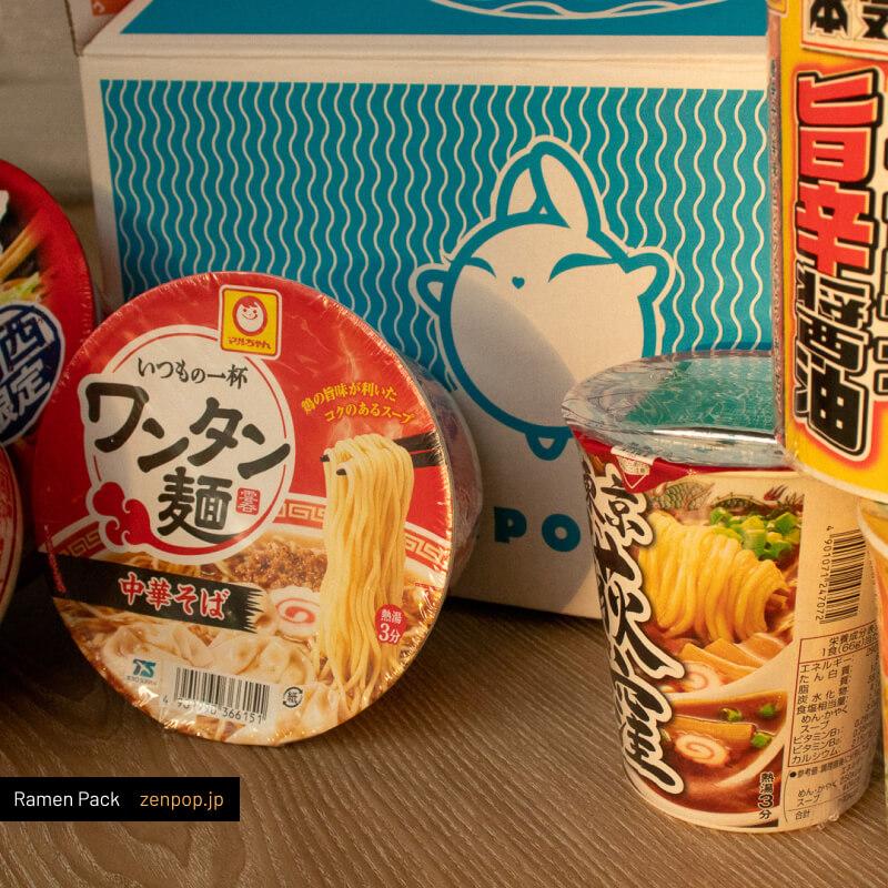 ZenPop's Japanese Ramen Pack