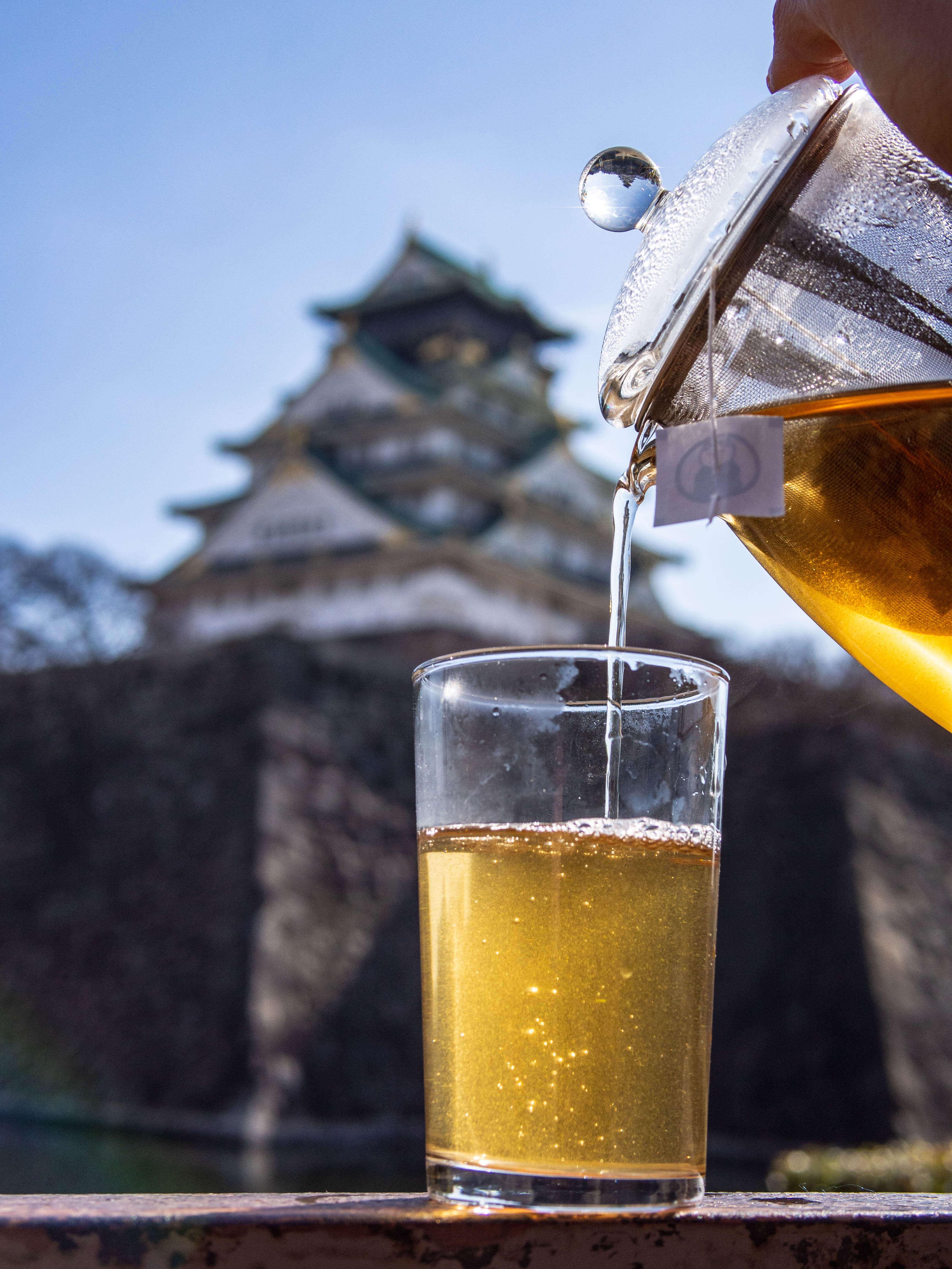 Tea in Osaka