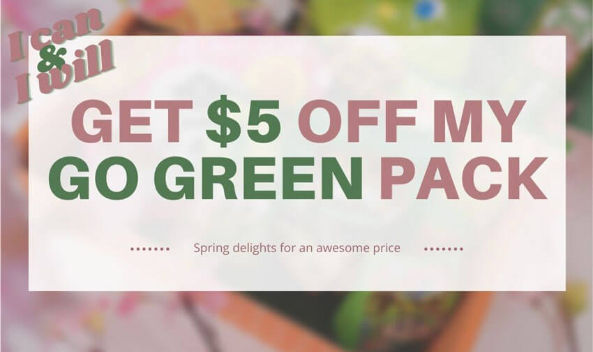 $5 OFF Go Green Mix Pack