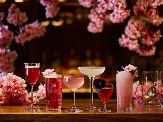 Sakura Themed Drinks
