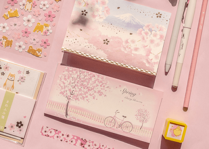 ZenPop's April Stationery Subscription Box