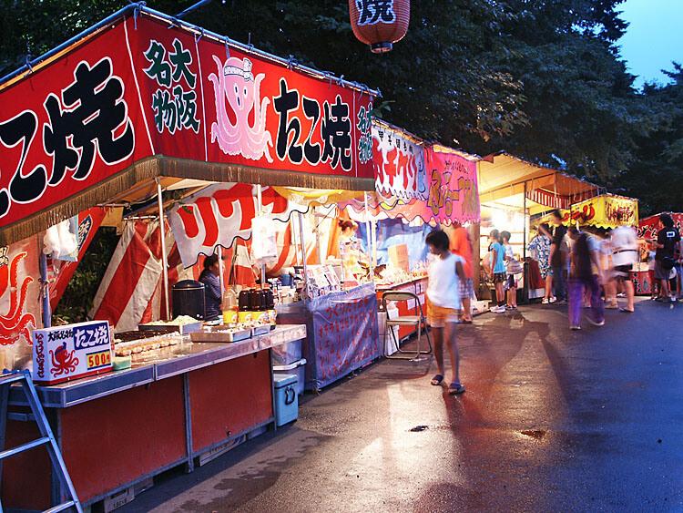 Festival stalls