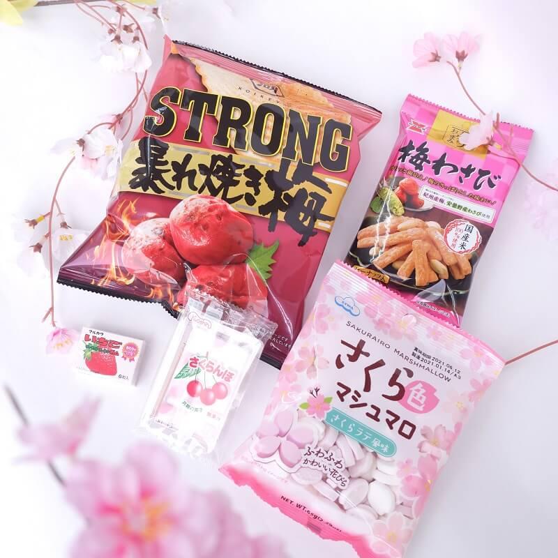 ZenPop Sakura snacks