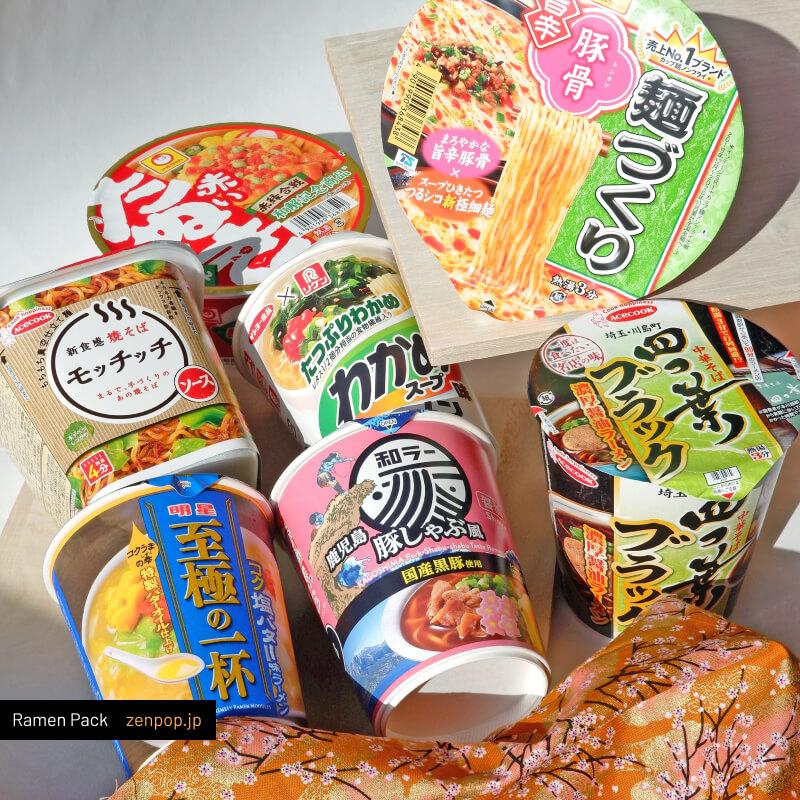 ZenPop's Ramen Pack: Summer Specials