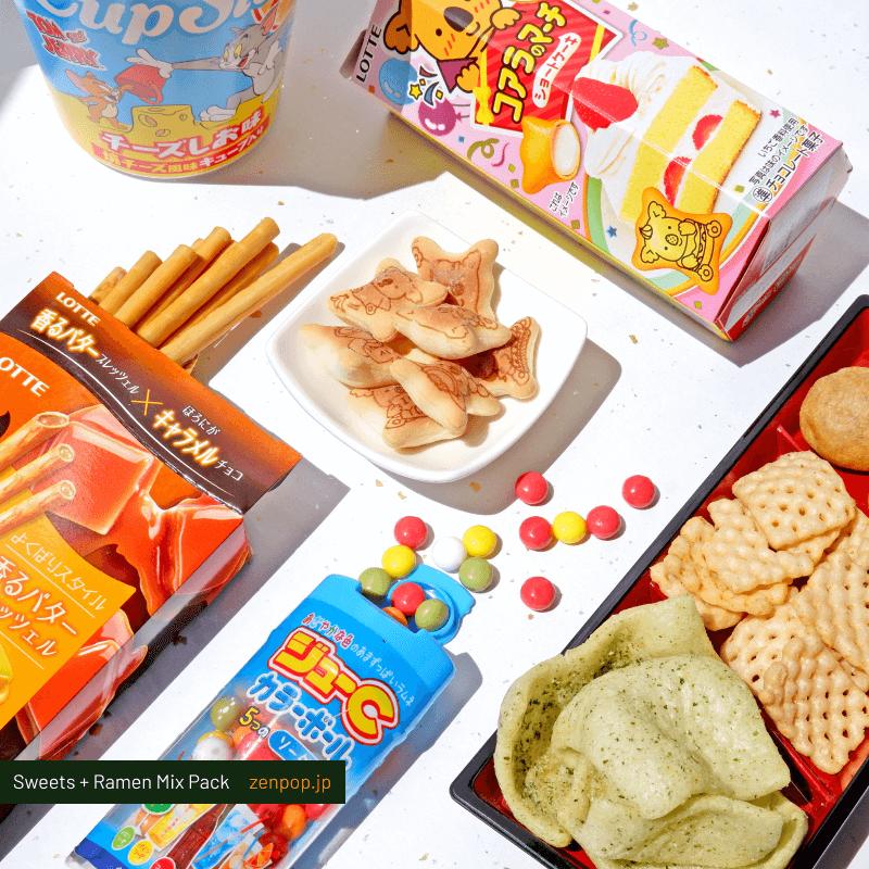 ZenPop's Ramen and Sweets Mix Pack: Flavor Party