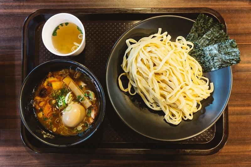 Japanese tsukemen