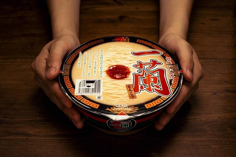 Ichiran ramen noodles