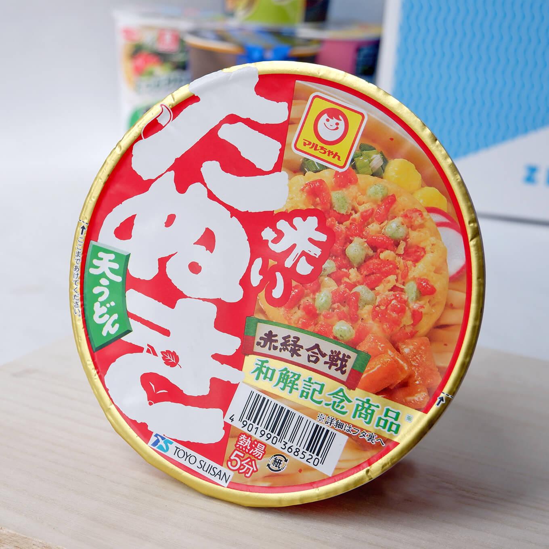 Akai tanuki noodles