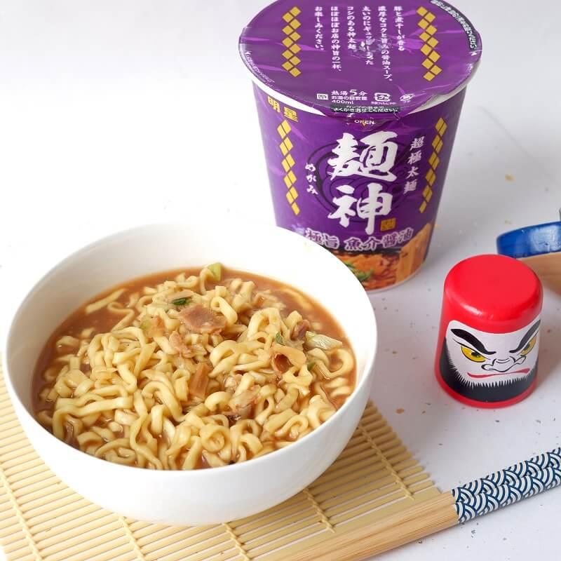 Megami Seafood Shoyu Noodles