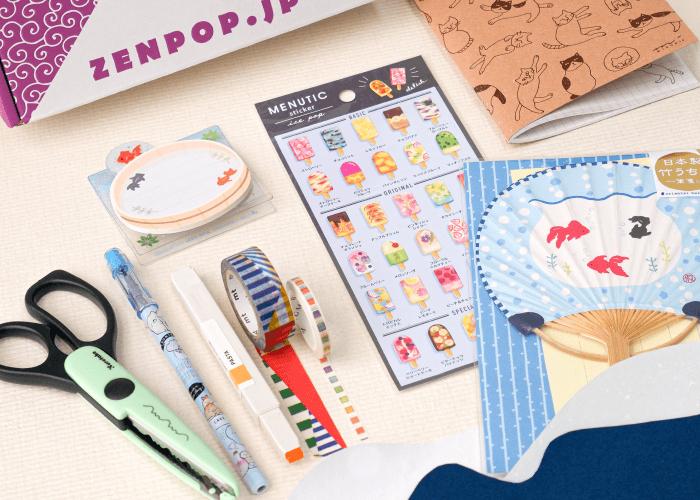 ZenPop's Summer Craft Stationery Pack
