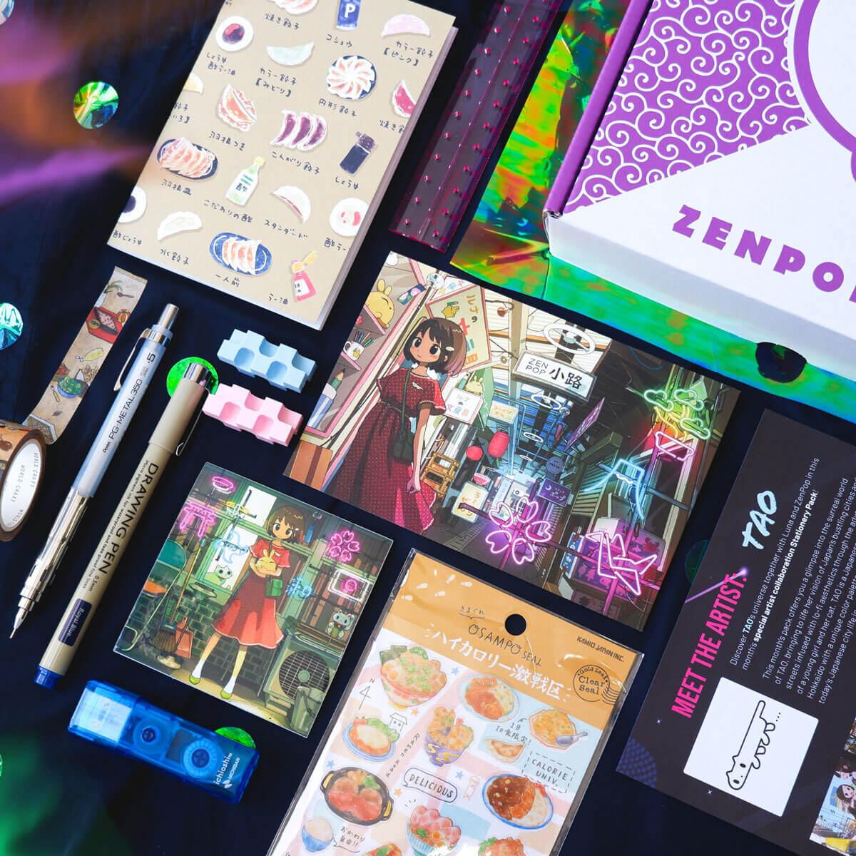 ZenPop x TAO Pack