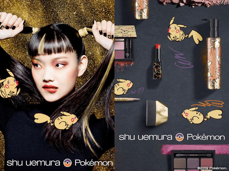 Shu Uemura Pokémon Collaboration