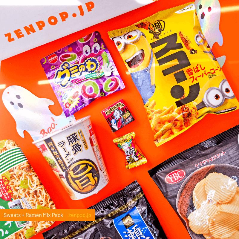 ZenPop's Ramen and Sweets Mix Pack: Creept it Real