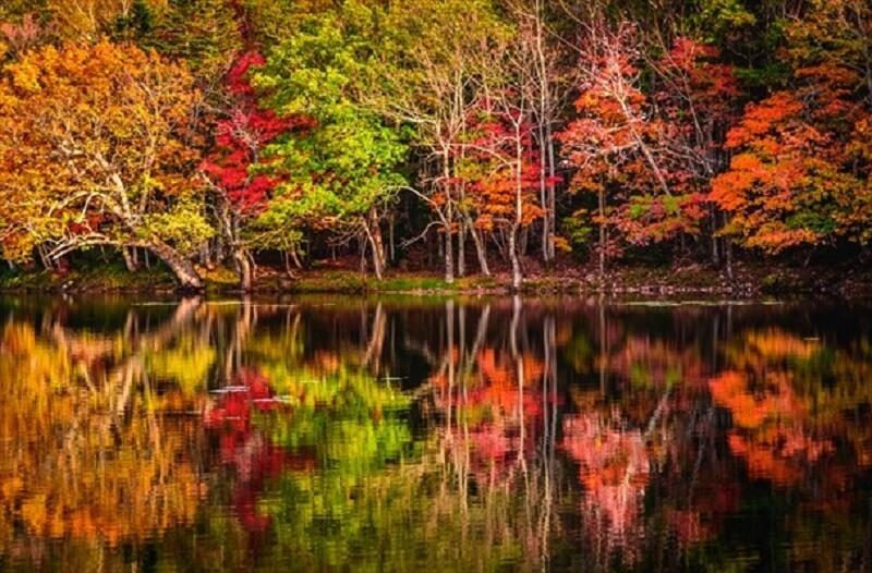 Shiretokogo Five Lakes