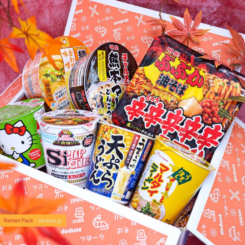 ZenPop's Ramen Pack: Heartwarming Noodles