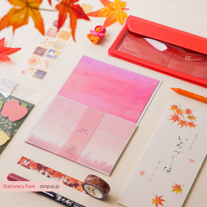 ZenPop's Stationery Pack: Japanese Fall Inspirations