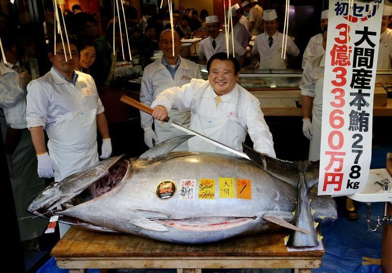 Japanese Tuna Auction
