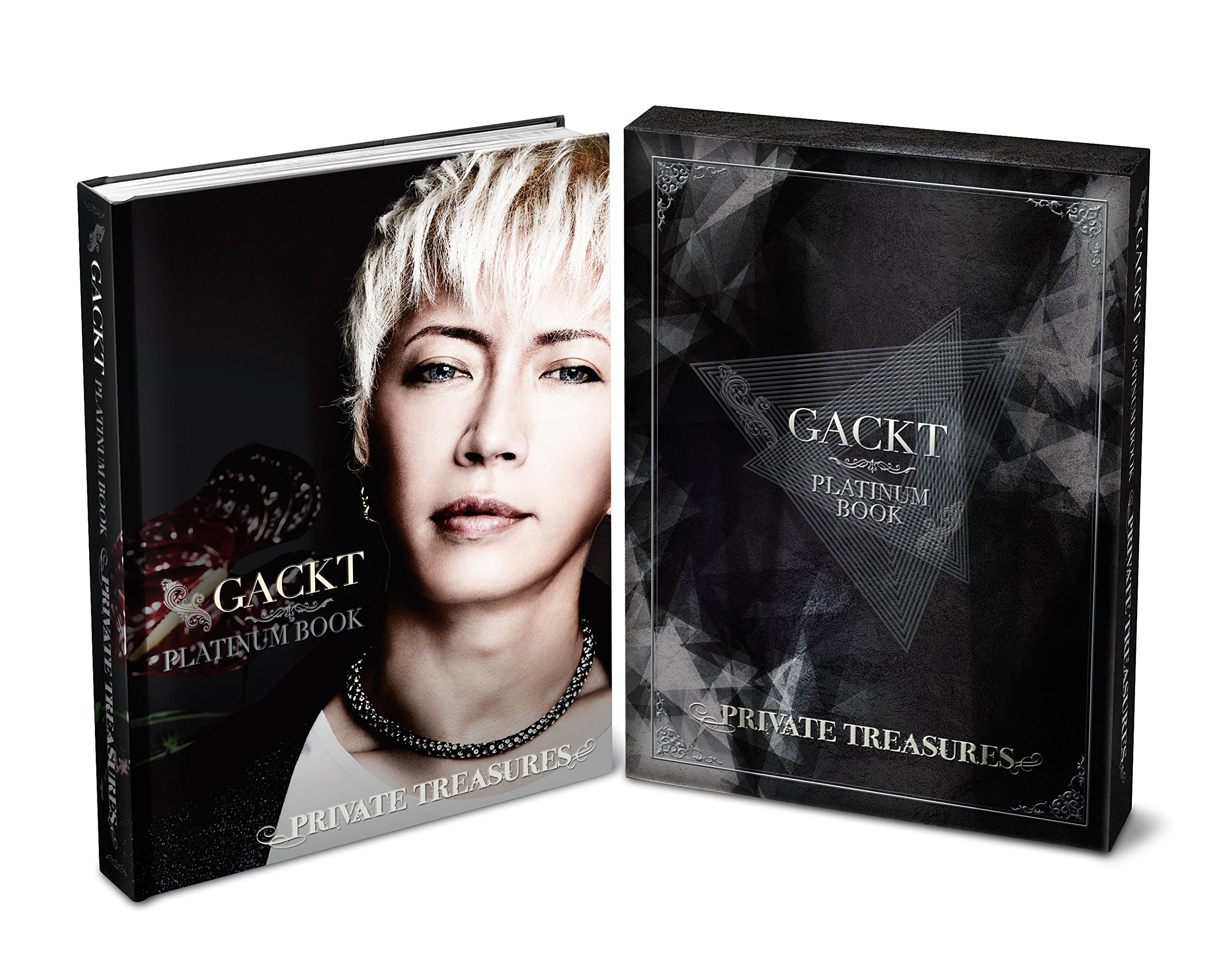 Gackt's premium platinum book called Private Treasures