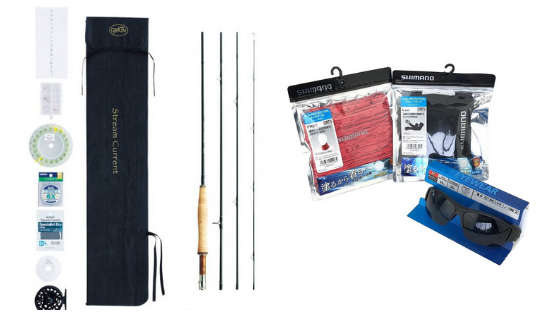 Japanese fishing kits for beginners and pros