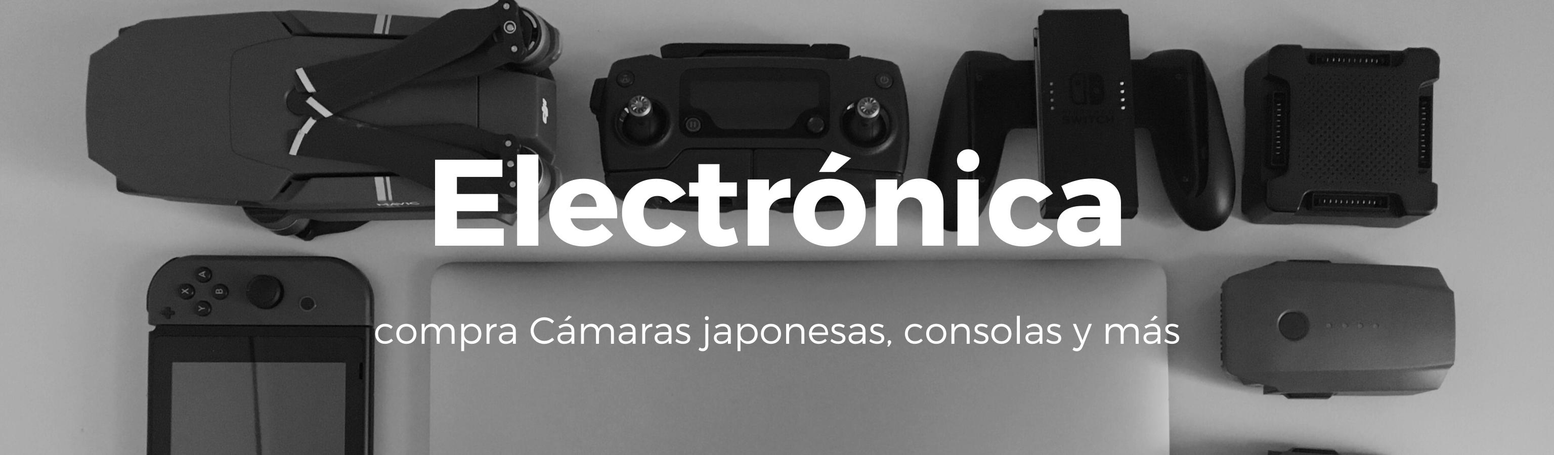 ¡Compra productos electrónicos de Japón ahora!