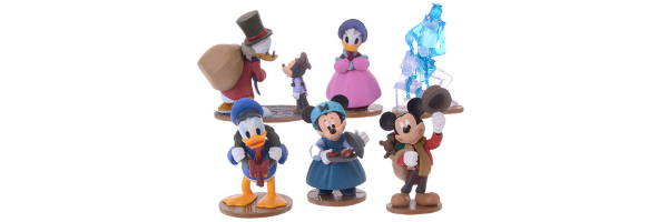 Mickey's Christmas Carol 6 figures - Japan Disney Store