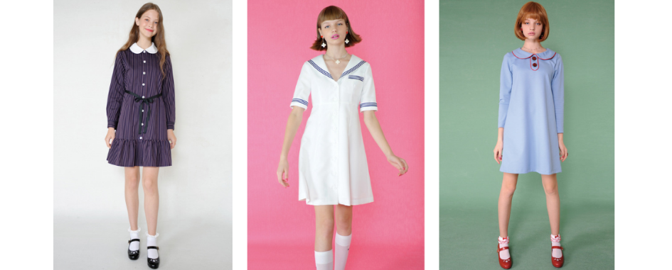 Milk Japan's Otome clothing
