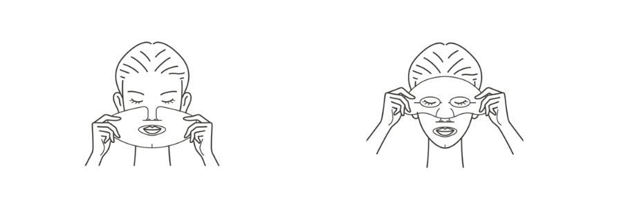 Питательные тканевые маски от est - the lotion mask - ZenMarket