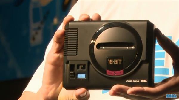 Japanese Sega Mega Drive Mini