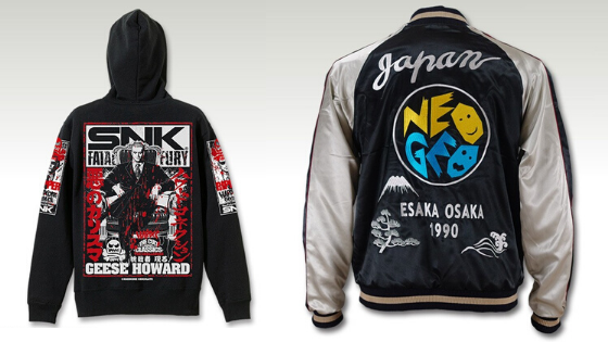 SNK Clothing fatal fury and sukajan