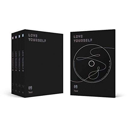 Album de BTS llamado Love Yourself