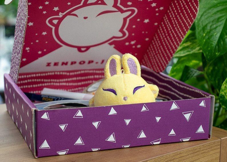 Luna, ZenPop's mascot and star of online manga, Full Moon Magic