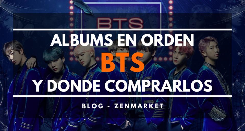 BTS: Albums en Órden y Dónde Comprarlos (2019) - ZenMarket.jp - Servicio proxy y de compras a Japón
