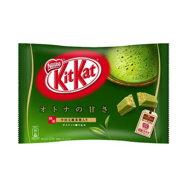 KitKat with Uji matcha  flavor (set of 12 packets)
