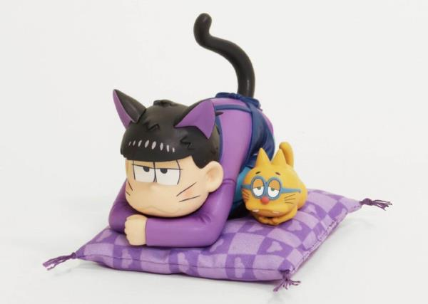 "Anime figure ""Osomatsu-san & Mr. Esper puss"