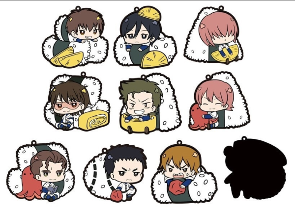 'Ace of Diamond' character straps (10 pc BOX)