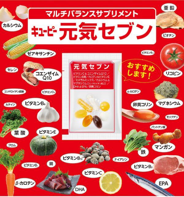 Multi balance supplement – Genki Seven!