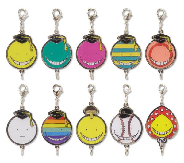Assassination Classroom (暗殺 教室) charms set