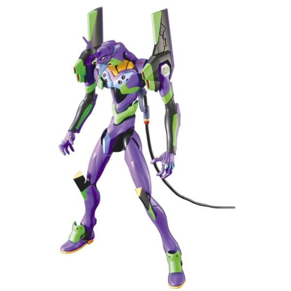 Humanoid robot war machine Evangelion figure, Model Eva-01 (limited edition).